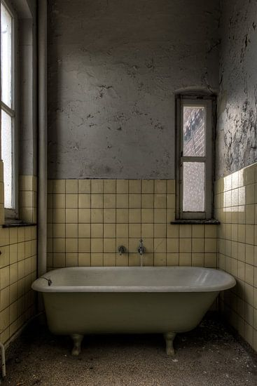 Badkamer in Klooster van Sven van der Kooi