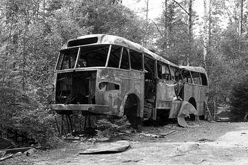 Alter Stadtbus von Ingrid Mooij