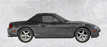 Mazda MX-5 Speciale Zwarte Editie van aRi F. Huber