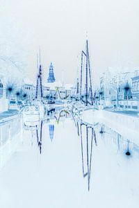 Winter Welvaart in Groningen.