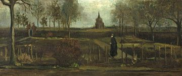Der Garten des Pfarrhauses von Nuenen, Vincent van Gogh