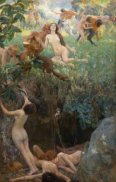 Baldomer Gili i Roig, Abismus - 1905 von Atelier Liesjes