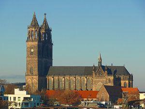 Magdeburg Cathedral van Barbara Hilmer-Schroeer