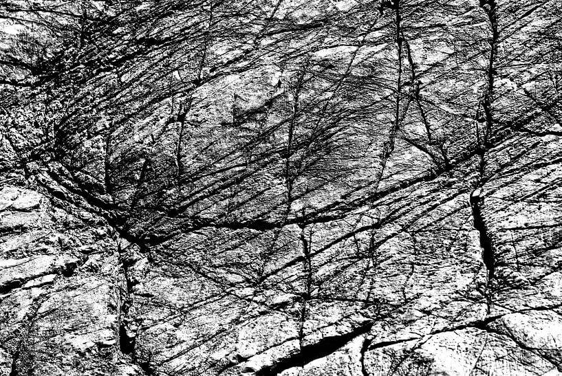 Scratched rock van HP Fotografie
