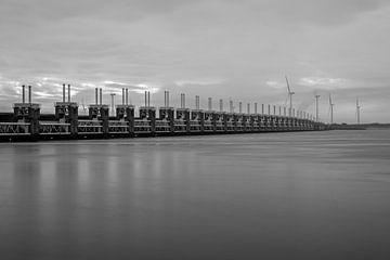 Oosterschelde-Barriere Neeltje Jans - 2 von Nuance Beeld