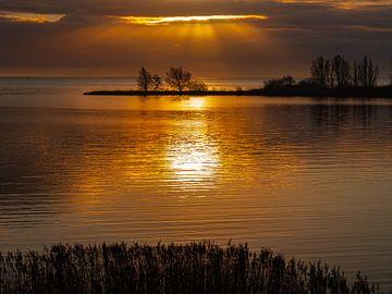 Enkhuizen Sunrise van Mariusz Jandy