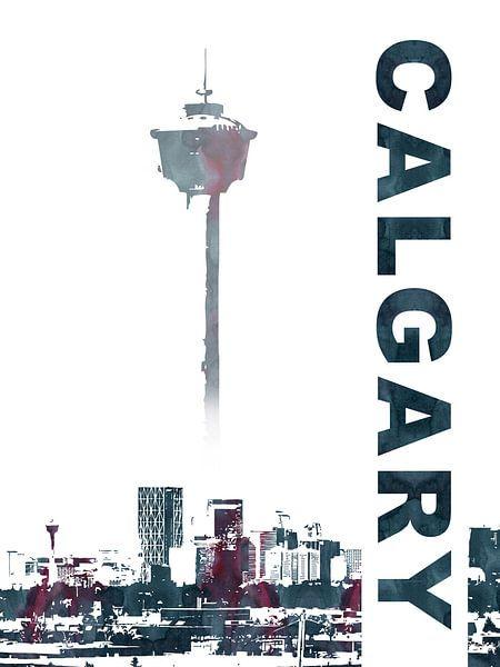 Calgary van Printed Artings