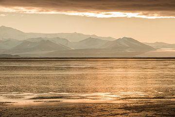 Sonnenuntergang Antarktis von Eefke Smets
