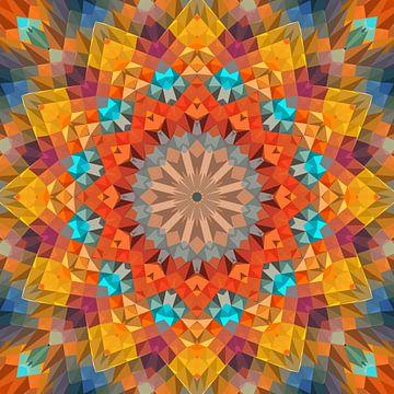 Mandala-stijl 27 van Marion Tenbergen