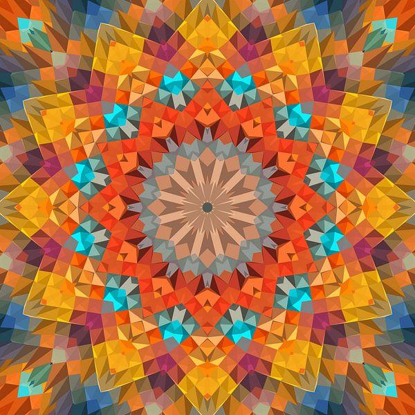 Mandala Art 27 von Marion Tenbergen