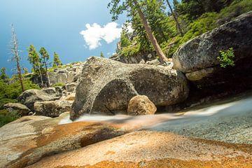 Bassi Falls, Californië van Marli Klok