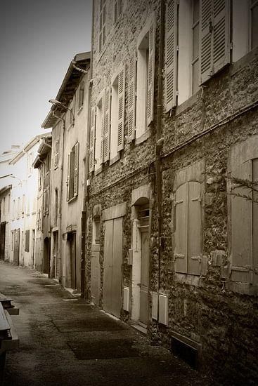 Franse straat van Guido Akster