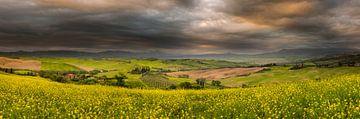 Zonsopkomst Toscane van