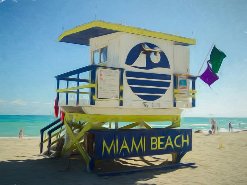Miami Beach - Florida van Joris Pannemans - Loris Photography