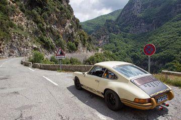 Col du Turini 911 von Maurice van den Tillaard