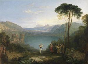 Lake Avernus: Aeneas and the Cumaean Sybil, Joseph Mallord William Turner