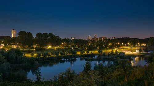 Hoogvliet: De Heerlijkheid bij nacht