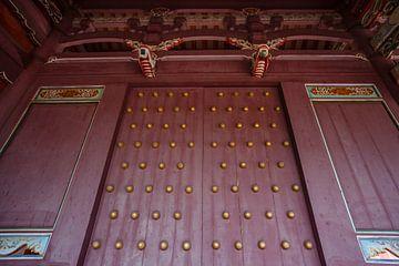 Confucius tempel in Tainan, Taiwan, Azië van WorldWidePhotoWeb