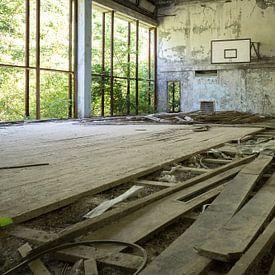 Gym Chernobyl von Erwin Zwaan