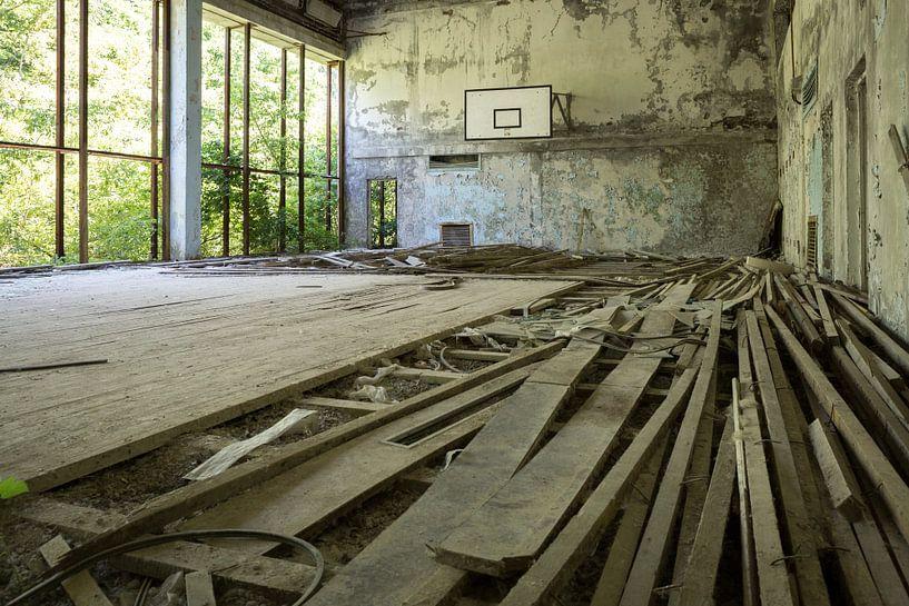Sporthal Tsjernobyl van Erwin Zwaan