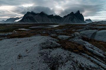 Vestrahorn IJsland van Daan Beuman