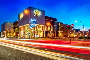 Trafic pour le bâtiment Pathe à Zwolle Overijssel sur Bart Ros