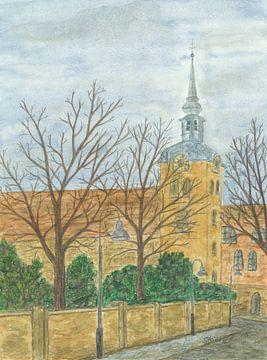 St. Johannis Kirche Flensburg von Sandra Steinke
