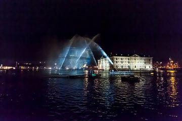 A Ghost ship in Amsterdam van Brian Morgan