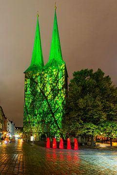 Nikolaikirche Berlin in besonderem Licht