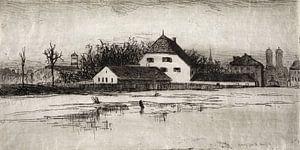 Lewis Henry Meakin, München van het Marsfeld - 1884