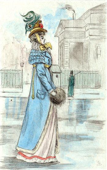 Mode 1813, Mode in het negentiende-eeuwse Parijs, Henri Boutet, (1851 1919) van Liszt Collection