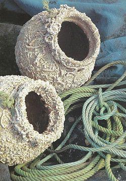 Tintenfischtöpfe in Portugal. von Ineke de Rijk