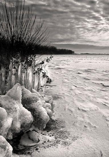 Friesland, Tjeeukermeer, Winter van Fons Bitter