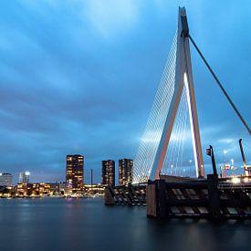 Erasmusburg  Rotterdam van PJS foto