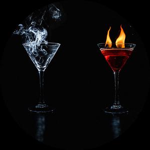 Vier elementen, four elements van Corrine Ponsen