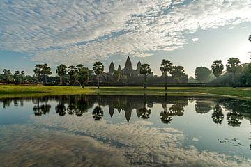 Complexe de temples d'Angkor Wat, Cambodge sur Peter Schickert