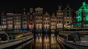 Damrak, Amsterdam in Farbe von Mirjam Boerhoop - Oudenaarden