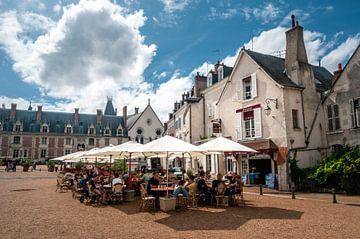 Traditioneel restaurant in Blois, Frankrijk van Ruurd Dankloff