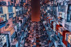 Gebouw in Hong Kong van Manjik Pictures