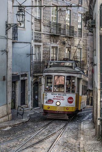 We nemen de tram van