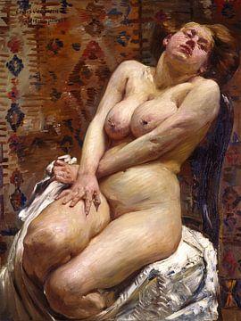 Nana, Weiblicher Akt, Lovis Corinth