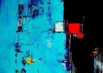Rood in zwart van Claudia Neubauer