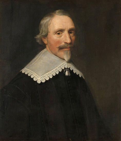 Portret van Jacob Cats, Michiel Jansz. van Mierevelt van Meesterlijcke Meesters