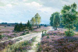 Lavendelfeld von Antonije Lazovic