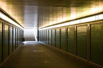Metro-ingang in Berlijn van