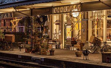 Kerstsfeer bij de Miljoenenlijn in Simpelveld