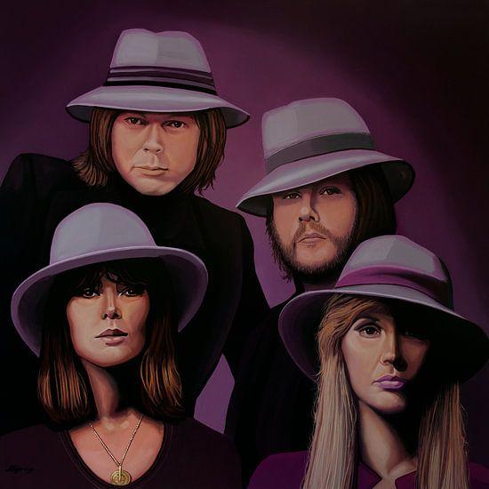 ABBA Schilderij van Paul Meijering