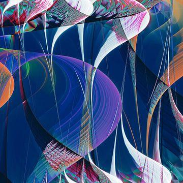 Composition abstraite 447 van Angel Estevez