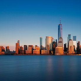 New York Panorama Gold van Adelheid Smitt