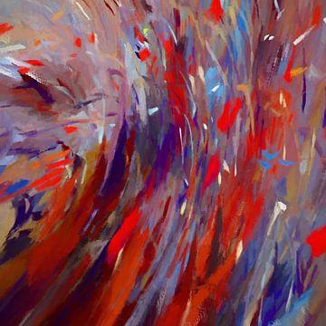 Abstracte samenstelling 824 van Angel Estevez